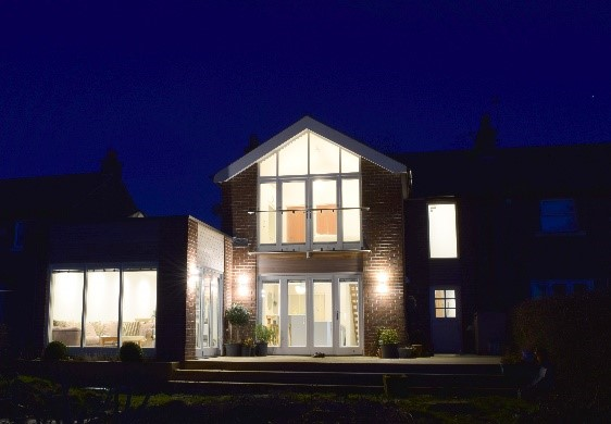 Private house shortlisted for LABC award