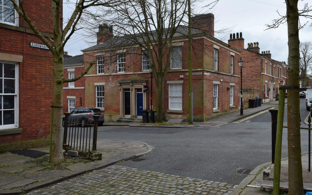 Renovation of Grade II listed Georgian town house, in Avenham, Preston